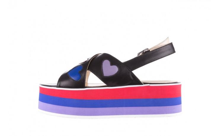 Sandały bayla-176 19136 czarny, skóra naturalna  - na platformie - sandały - buty damskie - kobieta 2