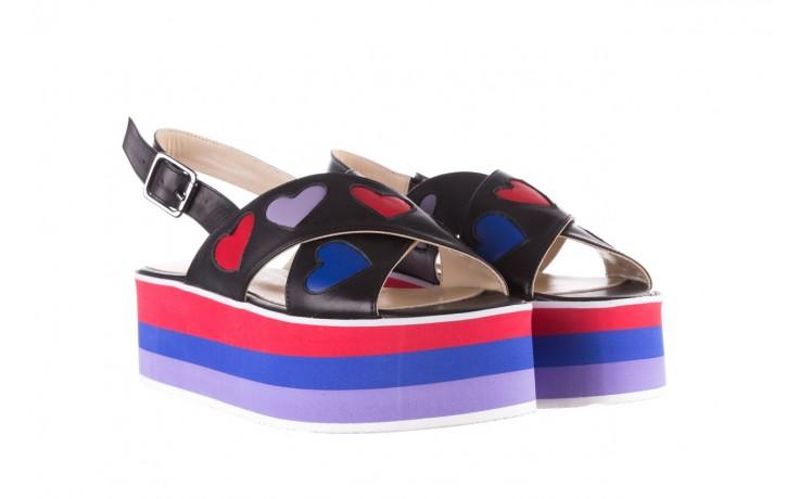 Sandały bayla-176 19136 czarny, skóra naturalna  - na platformie - sandały - buty damskie - kobieta 1