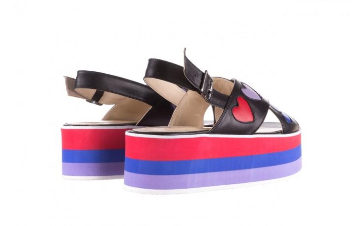 Sandały bayla-176 19136 czarny, skóra naturalna  - na platformie - sandały - buty damskie - kobieta 3