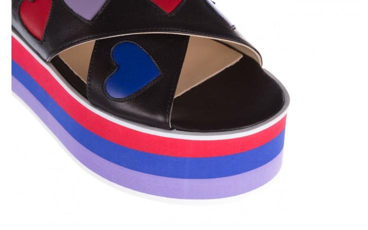Sandały bayla-176 19136 czarny, skóra naturalna  - na platformie - sandały - buty damskie - kobieta 5