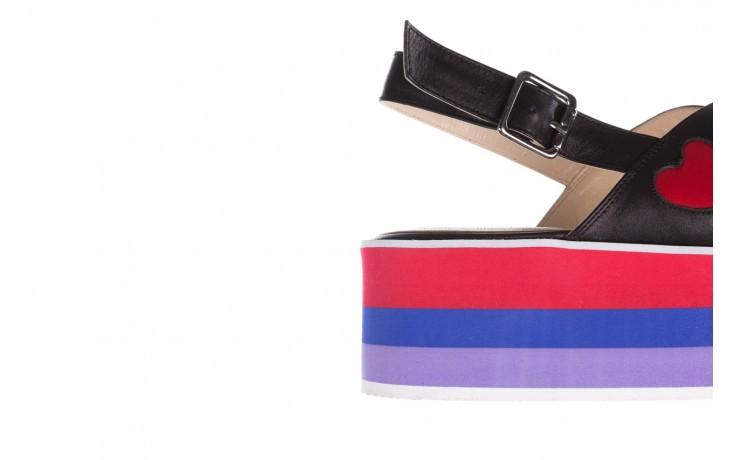 Sandały bayla-176 19136 czarny, skóra naturalna  - na platformie - sandały - buty damskie - kobieta 6