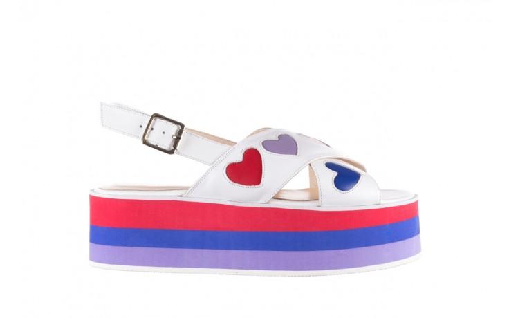 Sandały bayla-176 19136 biały, skóra naturalna  - bayla - nasze marki