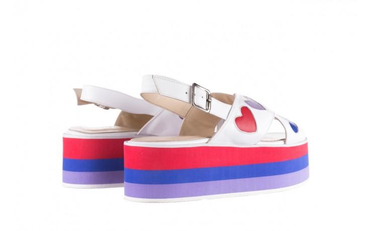 Sandały bayla-176 19136 biały, skóra naturalna  - bayla - nasze marki 3