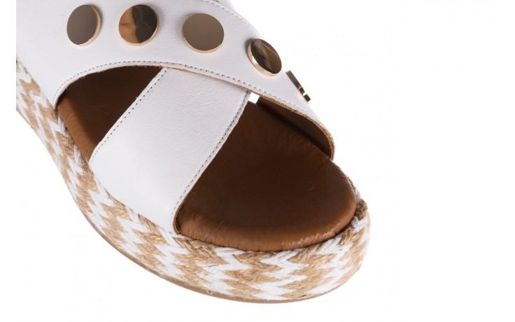 Sandały bayla-176 1414 biały, skóra naturalna  - na platformie - sandały - buty damskie - kobieta 5