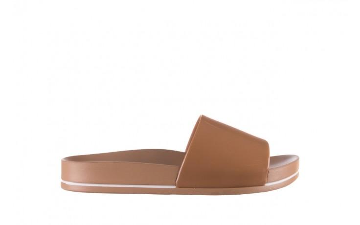 Klapki azaleia 290 195 capuccino, brąz, guma - gumowe/plastikowe - klapki - buty damskie - kobieta