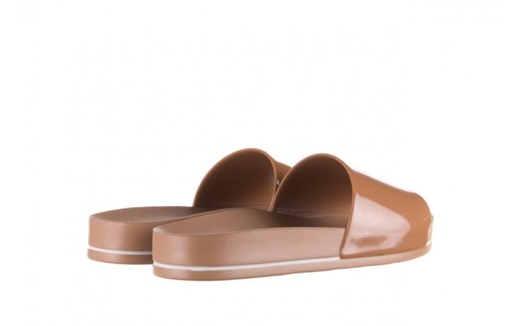 Klapki azaleia 290 195 capuccino, brąz, guma - gumowe/plastikowe - klapki - buty damskie - kobieta 3