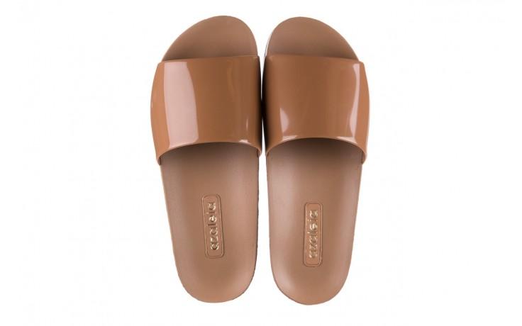 Klapki azaleia 290 195 capuccino, brąz, guma - gumowe/plastikowe - klapki - buty damskie - kobieta 4