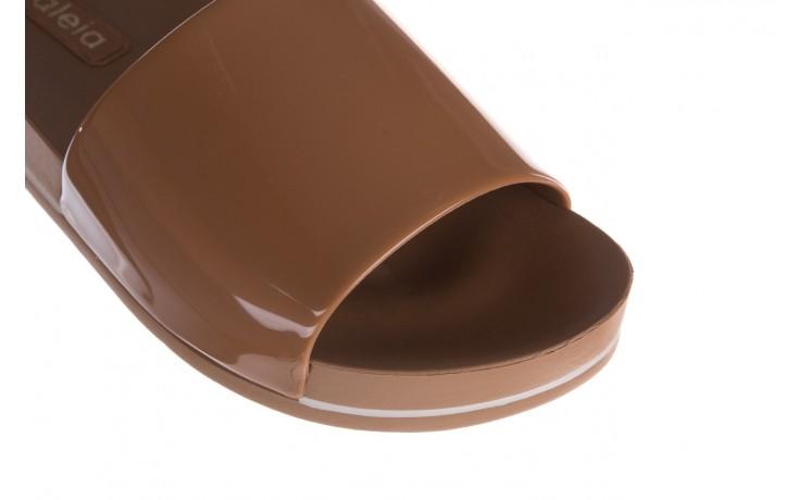 Klapki azaleia 290 195 capuccino, brąz, guma - gumowe/plastikowe - klapki - buty damskie - kobieta 5
