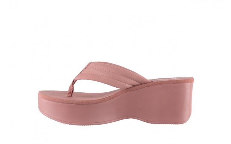 Klapki dijean 276 209 nobuck old pink, róż, materiał - gumowe/plastikowe - klapki - buty damskie - kobieta 2