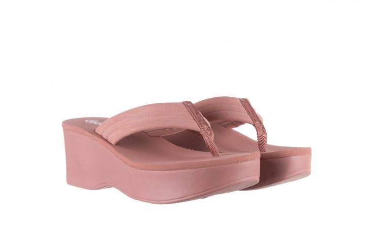 Klapki dijean 276 209 nobuck old pink, róż, materiał - gumowe/plastikowe - klapki - buty damskie - kobieta 1