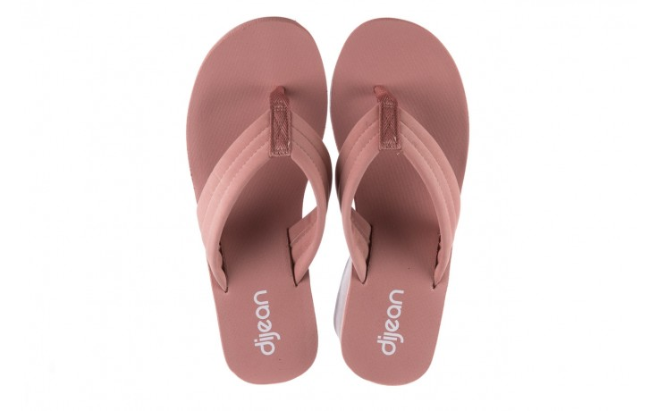 Klapki dijean 276 209 nobuck old pink, róż, materiał - gumowe/plastikowe - klapki - buty damskie - kobieta 4