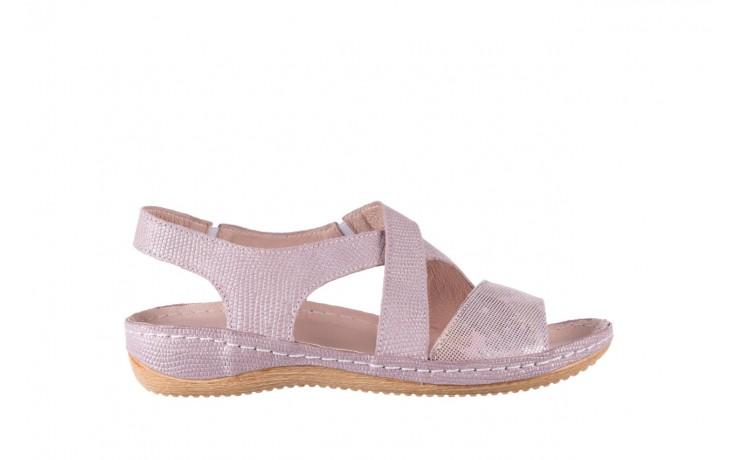 Sandały bayla-100 449 lila, skóra naturalna  - bayla - nasze marki