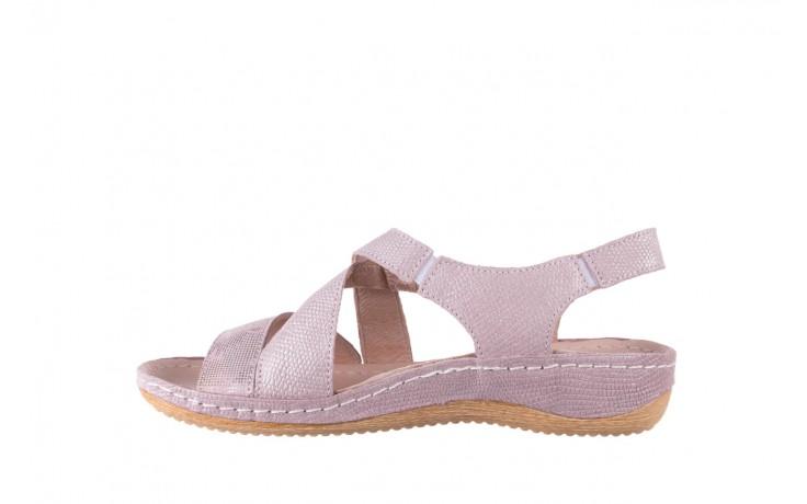 Sandały bayla-100 449 lila, skóra naturalna  - bayla - nasze marki 2