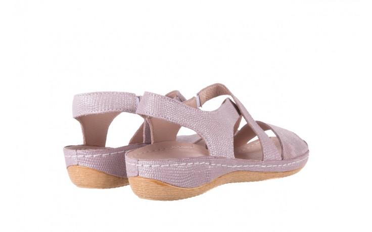 Sandały bayla-100 449 lila, skóra naturalna  - bayla - nasze marki 3