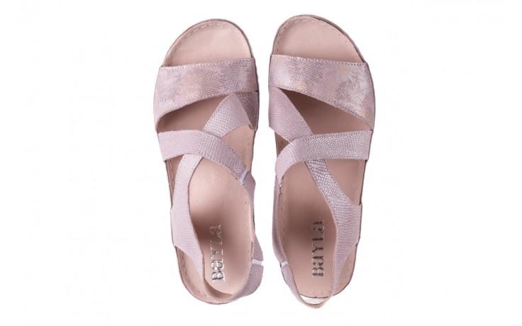 Sandały bayla-100 449 lila, skóra naturalna  - bayla - nasze marki 4