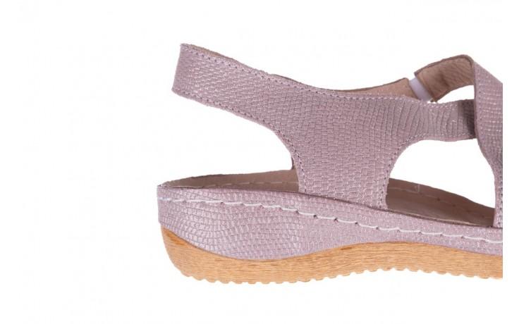 Sandały bayla-100 449 lila, skóra naturalna  - bayla - nasze marki 7