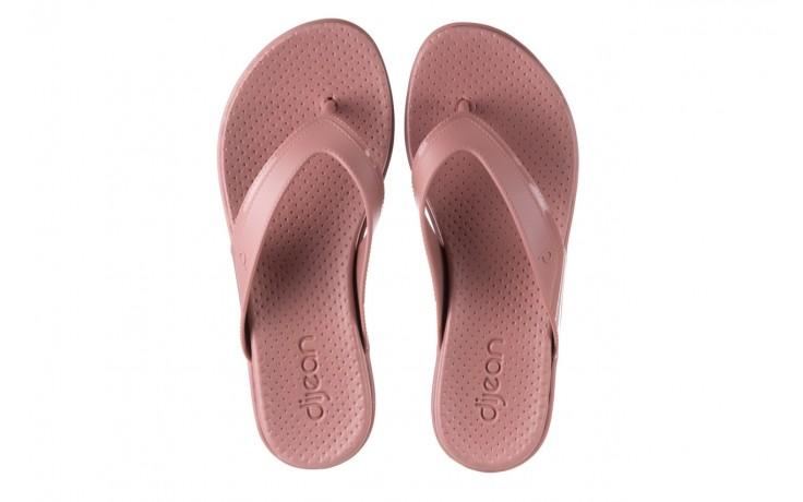 Klapki dijean 286 248 old pink-pink, róż, guma - dijean - nasze marki 4