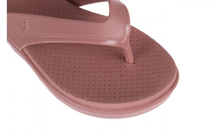Klapki dijean 286 248 old pink-pink, róż, guma - dijean - nasze marki 5