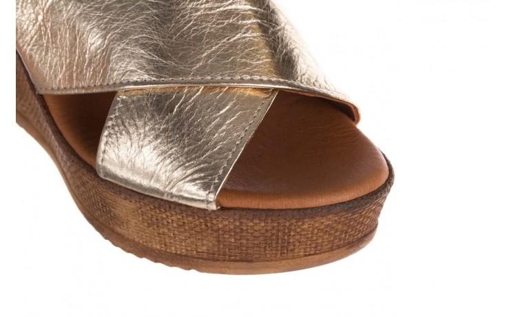Koturny bayla-179 9104 złoty, skóra naturalna  - koturny - buty damskie - kobieta 5