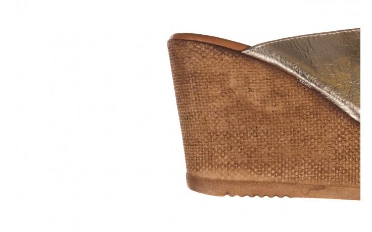 Koturny bayla-179 9104 złoty, skóra naturalna  - koturny - buty damskie - kobieta 6