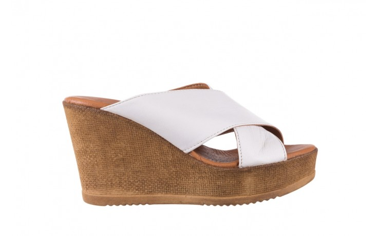 Koturny bayla-179 9104 biały, skóra naturalna  - koturny - buty damskie - kobieta