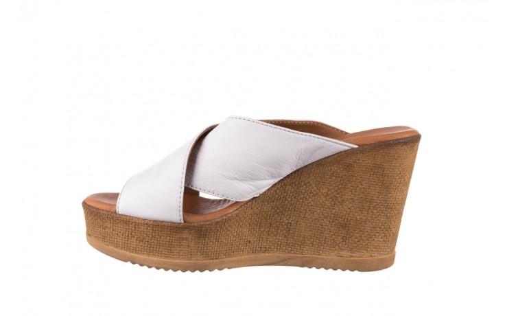 Koturny bayla-179 9104 biały, skóra naturalna  - koturny - buty damskie - kobieta 2