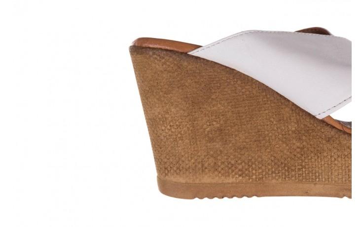 Koturny bayla-179 9104 biały, skóra naturalna  - koturny - buty damskie - kobieta 5