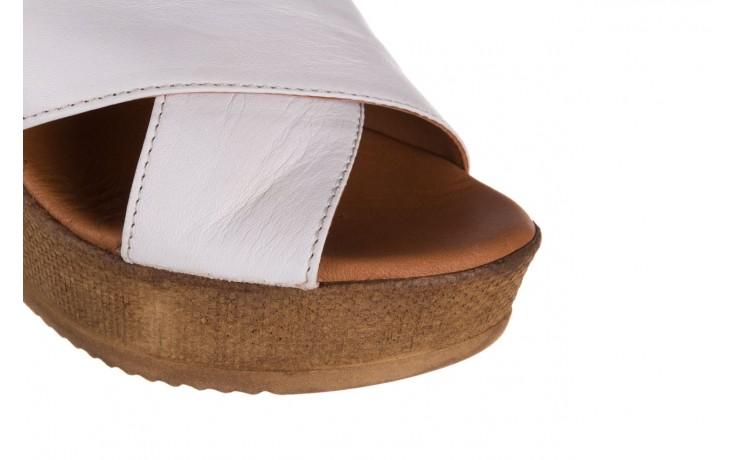 Koturny bayla-179 9104 biały, skóra naturalna  - koturny - buty damskie - kobieta 6