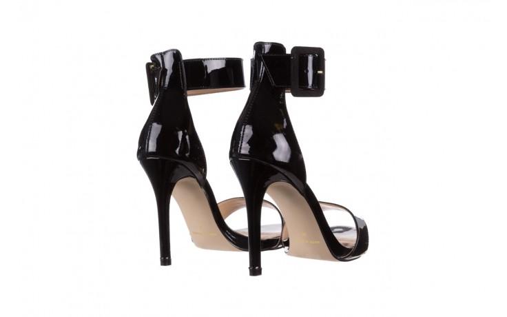 Sandały bayla-065 6189496 czarny, skóra naturalna lakierowana - na obcasie - sandały - buty damskie - kobieta 3