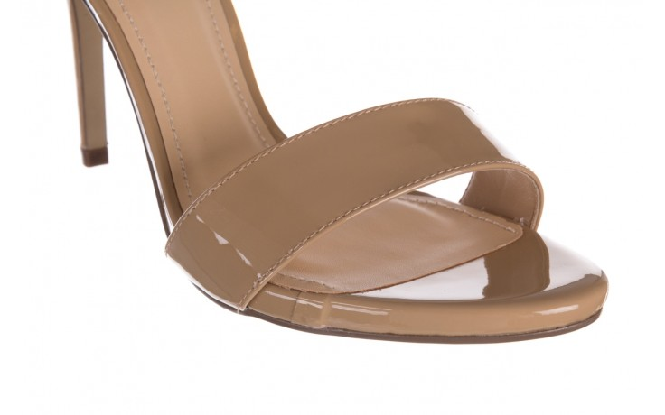 Sandały bayla-065 6189496 beż, skóra naturalna lakierowana 5