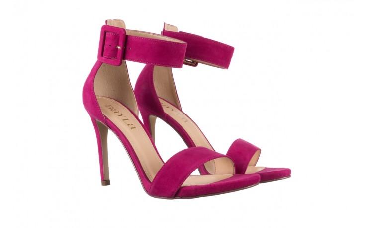 Sandały bayla-065 6189496 róż, skóra naturalna - bayla - nasze marki 1
