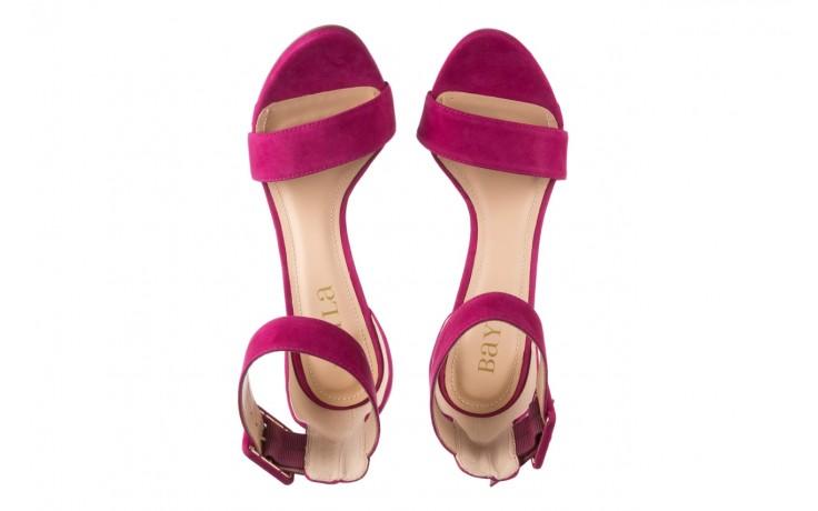 Sandały bayla-065 6189496 róż, skóra naturalna - bayla - nasze marki 4
