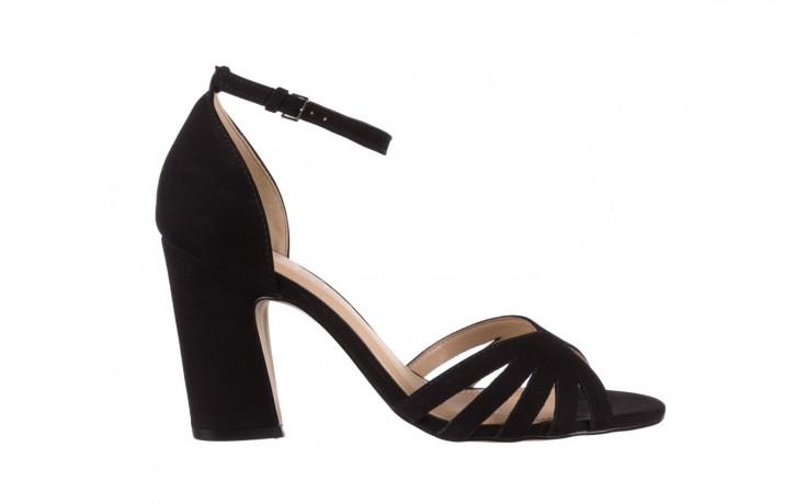 Sandały bayla-065 6140138 czarny, skóra naturalna  - rozmiar 36 - kobieta - mega okazje - ostatnie rozmiary