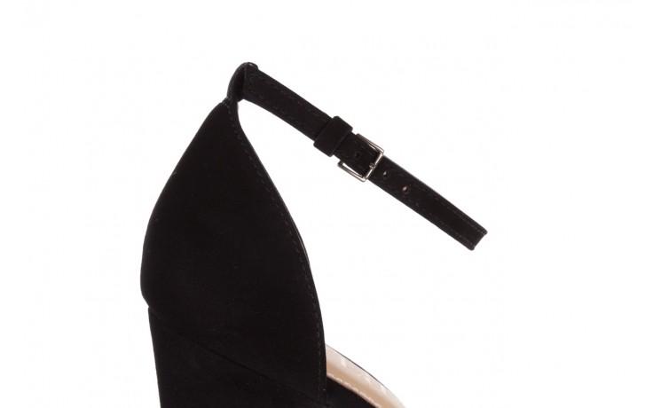 Sandały bayla-065 6140138 czarny, skóra naturalna  - rozmiar 36 - kobieta - mega okazje - ostatnie rozmiary 6