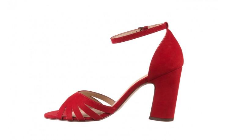 Sandały bayla-065 6140138 czerwony, skóra naturalna  - bayla - nasze marki 2