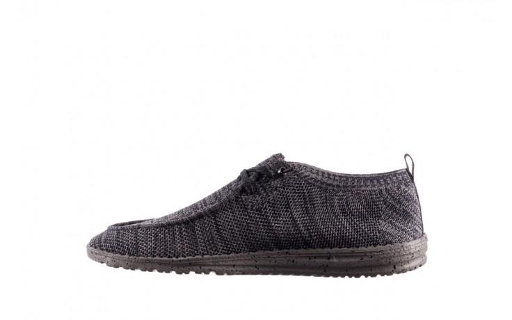 Półbuty heydude wally knit multi grey, granat/ szary, materiał  - trendy - mężczyzna 2