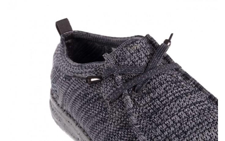 Półbuty heydude wally knit multi grey, granat/ szary, materiał  - trendy - mężczyzna 5