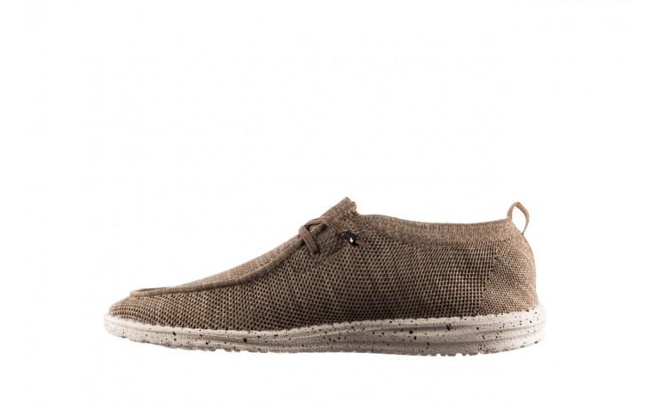 Półbuty heydude wally knit beige, beż, materiał - sportowe - półbuty - buty męskie - mężczyzna 2