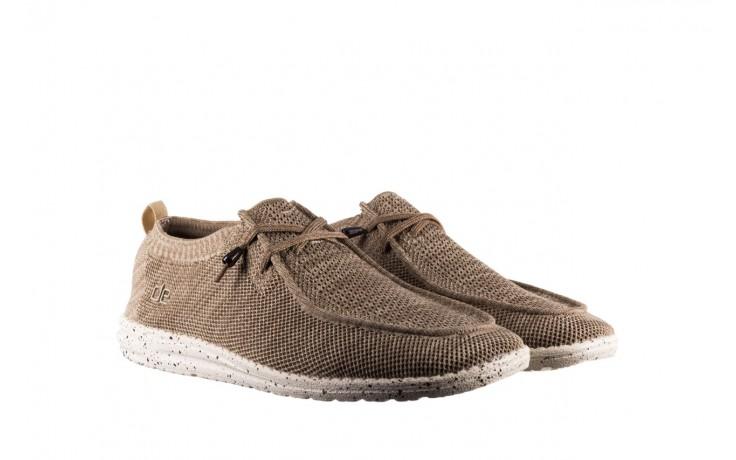 Półbuty heydude wally knit beige, beż, materiał - sportowe - półbuty - buty męskie - mężczyzna 1