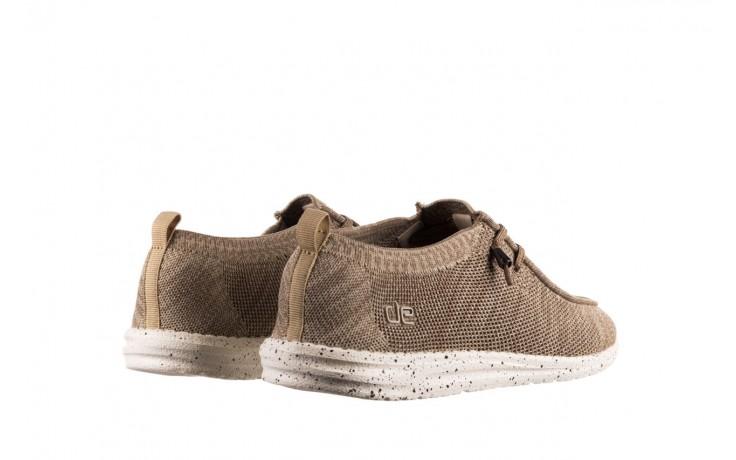 Półbuty heydude wally knit beige, beż, materiał - sportowe - półbuty - buty męskie - mężczyzna 3