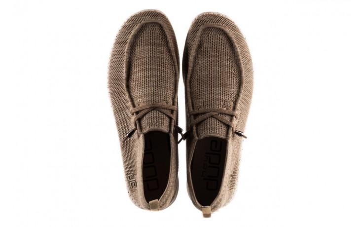 Półbuty heydude wally knit beige, beż, materiał - sportowe - półbuty - buty męskie - mężczyzna 4