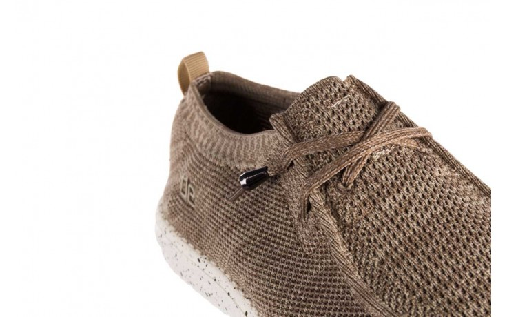 Półbuty heydude wally knit beige, beż, materiał - sportowe - półbuty - buty męskie - mężczyzna 5