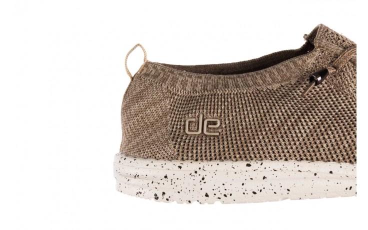 Półbuty heydude wally knit beige, beż, materiał - sportowe - półbuty - buty męskie - mężczyzna 6