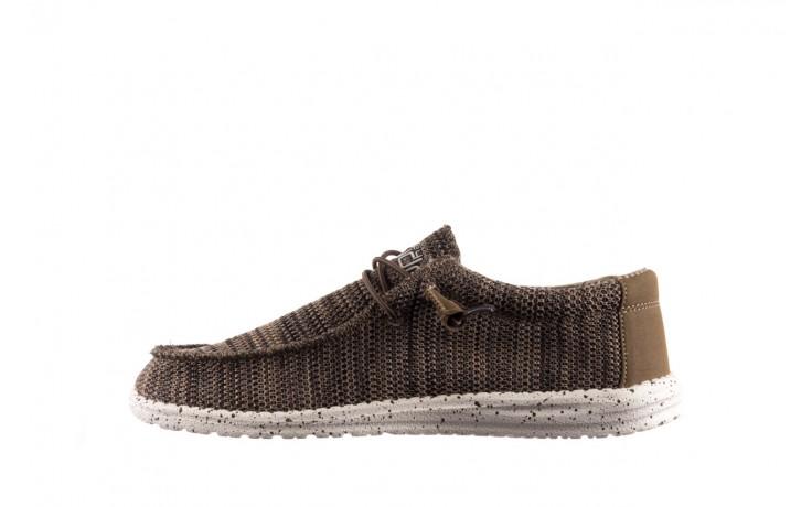 Półbuty heydude wally sox brown, khaki, materiał - sportowe - półbuty - buty męskie - mężczyzna 2