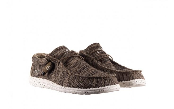 Półbuty heydude wally sox brown, khaki, materiał - sportowe - półbuty - buty męskie - mężczyzna 1