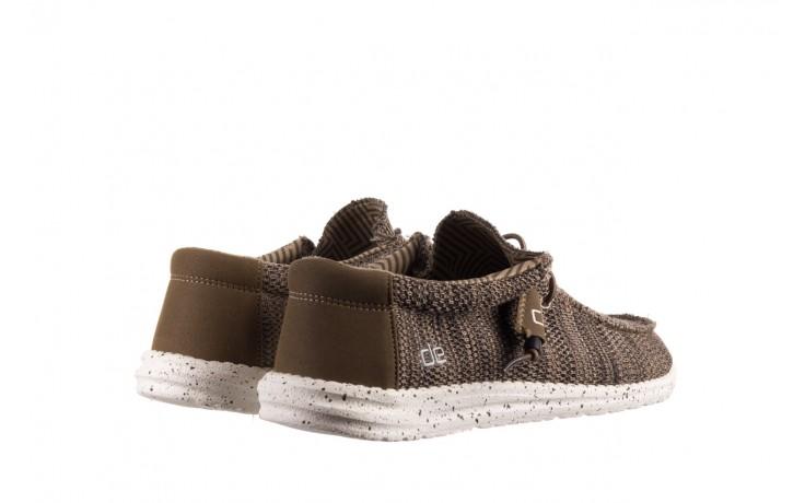 Półbuty heydude wally sox brown, khaki, materiał - sportowe - półbuty - buty męskie - mężczyzna 3