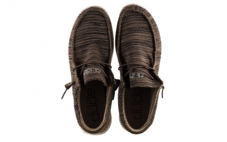 Półbuty heydude wally sox brown, khaki, materiał - sportowe - półbuty - buty męskie - mężczyzna 4