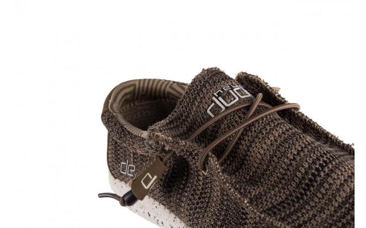 Półbuty heydude wally sox brown, khaki, materiał - sportowe - półbuty - buty męskie - mężczyzna 5