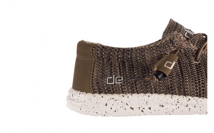 Półbuty heydude wally sox brown, khaki, materiał - sportowe - półbuty - buty męskie - mężczyzna 6