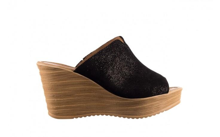 Koturny bayla-100 490 czarny, skóra naturalna  - koturny - dla niej  - sale